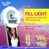 Manufacturers selfie ring light clip on the mobile phone with mist sprayer