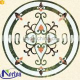 Polished europe style natural marble mosaic floor medallion NTMS-MM002A