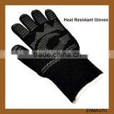 Extreme Heat Resistant EN407 Certified BBQ Gloves ,Kitchen Food Grade Cooking, Grilling& Baking Oven Mitts