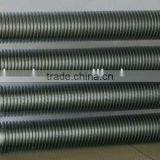 Carbon steel cooling radiator fins pipe