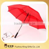 27'' 8k cheap umbrella price wholesale Pongee red golf umbrella