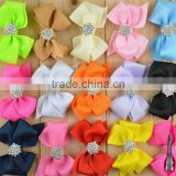 high quality butterfly bow Hair Clip Hair Bowknot Clips grosgrain ribbon Hairpins infant baby girls Hair Accessories