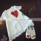 2016 new style summer baby lace dress fashion flower girls' dresses girl wedding dress