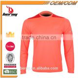 Design customized thermal T shirt long sleeve for men,comfortable long sleeve sport wear polo t-shirt