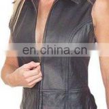 Ladies Leather Vests Art No: 1050