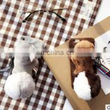 3D Cute Doll Plush Toy Squirrel Holder Cell Phone Cases For iPhone 6 6S 6Plus Fur Back Cover for iPhone 7 7Plus