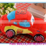 Cute plush car dolls/lovely soft plush car toy
