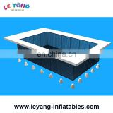 Safe Inflatable Float Pool / Inflatable Sea Pool Swimming Pool Zone With Net