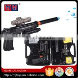 Meijin Fashion B/O electric water bullet kids gun toys Eva Gun Falcon M92 (Black)