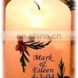 Personalized Large Favor Candle
