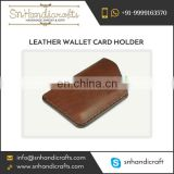 Leather Wallet Card Holder Available for Bulk Purchase