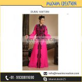 Women's Recommended Famous Brand Selling Dubai Kaftan of Latest Design