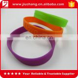 OEM silicone bracelet, high quality ink filled silicone bracelet with different colors, ECO friendly silicone wristband