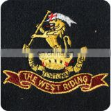 Best Quality British Military Embroidered Patches | Machine Embroidered Patch