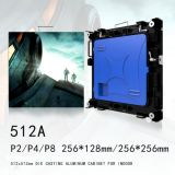 High Definition PH4 Indoor LED Screen Aluminum Rental Cabinet