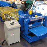 Trapezoidal glazed tiles sheet machine in China