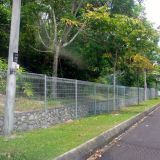 Australia 6ft wire mesh roll top fence panels residential oranmental fencing