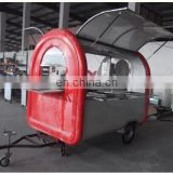 2015 Can do customized mobile food cart for sale scooter trailer mobile food vending trailer
