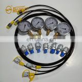 New arrival parts 0-400bar hydraulic pressure gauge test kit 0-6000psi for sale