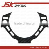 2008-2015 DRY CARBON FIBER INTERIOR STEERING WHEEL SWITCH PLATE FOR NISSAN GTR R35 (JSK220988)