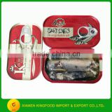 Chinese canned sardine fish manufacturer