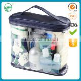 Fashion Promotional Transparent Toiletry Bag/Eco Beauty Make Up Bag/Travel Pvc Cosmetic Bag