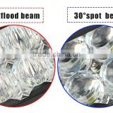 wholesale Waterproof 5D reflectors dual row led offroad light bar light for SUV ATV jeep wrangler 4WD car accessories