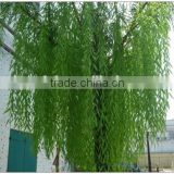 fiberglass trunk fabric leaf the evergreen leaf artificial trees artificial weeping willow trees