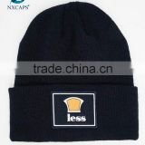 Custom Embroidery Logo Hot sale Wholesale Cheap 100 Acrylic Beanies With High Quality