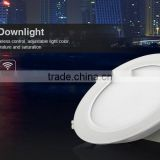 Mi light rf control wireless 12w rgb round downlight led
