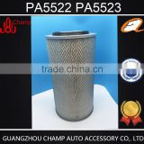 Guangzhou wholesale auto parts double air filter paper in auto air filtes for heavy truck