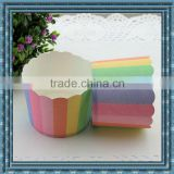 Disposable Eco friendly stocked biodegradable cup cake mould