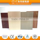 6063 T5 wood grain/electrophoresis aluminium extrusion profiles of Guangdong                                                                                                         Supplier's Choice