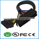 ATX 14 Pin to 24Pin Internal PC PSU Power Extension Cable Power Supply Wire Harness Extension Patch Cord