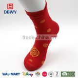 2015!Latest! Fashion Cotton Red Christmas Sock of China Manufacturer!