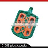 bicycle plastic pedal orange