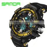 2016 New Brand SANDA Fashion Watch Men G Style Waterproof Sports Military Watches Shock Men's Luury Analog Quartz Digital Watch