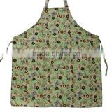 popular canvas gardon aprons kitchen apron detachable waiter uniform apron