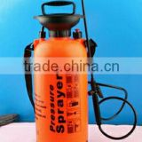 portable high pressure plastic water sprayer with safety valve