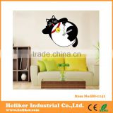 lovely wall stickers cats clock for baby room