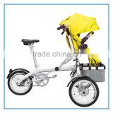 Electronic Family Mother China Manufacture / 2 In 1 Pram/ Cheap Baby Stroller Mother And Baby Bike Carriage
