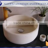 Online Booking White COLOR stone wash basin in bathroom and home products OF CUSTOM SIZE IN