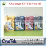 CRYSTEK Challenger SK4 solvent ink for SPT 510 35 pl/50 pl print head