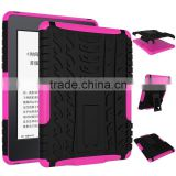 Drop resistance tablet skin cover for Amazon Kindle Paperwhite 3 E-reader rugged back case