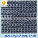 Fashional polyester 3d spacer air mesh fabric for men sport shoes