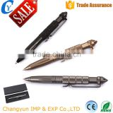 6061Metal Material Writing Ballpoint Outdoor Self Defense Tactical Pen With Emergency Hammer