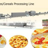 Core filled cracker/ snacks grain puffs potato flutes making machine/ pillow crackers extruder