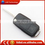 Hot sale VW 2 buttons car key for vw golf 4