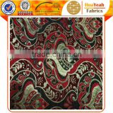 Yarn dyed wholesale classic chenille jacquard polyester fabric for sofa