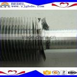 KL type spiral aluminum alloy1060,SB209 fin tube, heating parts, applicated for air cooler, heat exchanger & air conditioner